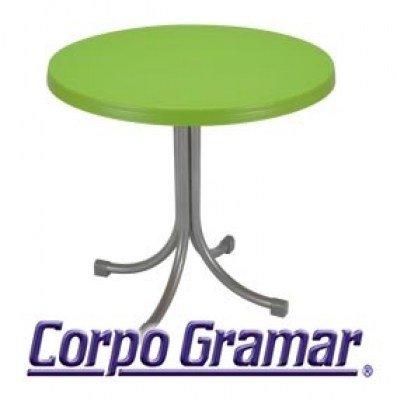 Mesa de Cafetería : mesa de cafeteria aries color VERDE MANZANA